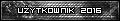 Użytkownik roku 2016 - srebro